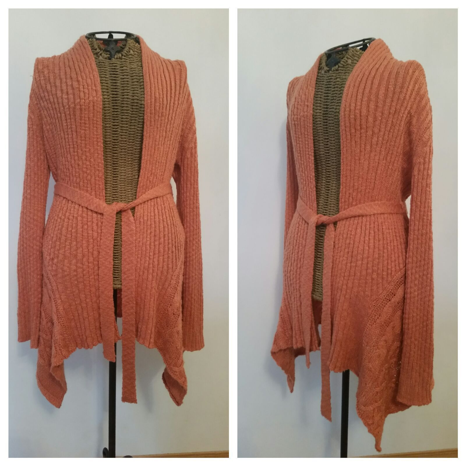 MYSTREE belted cardigan sweater - Mercari: BUY & SELL THINGS YOU LOVE