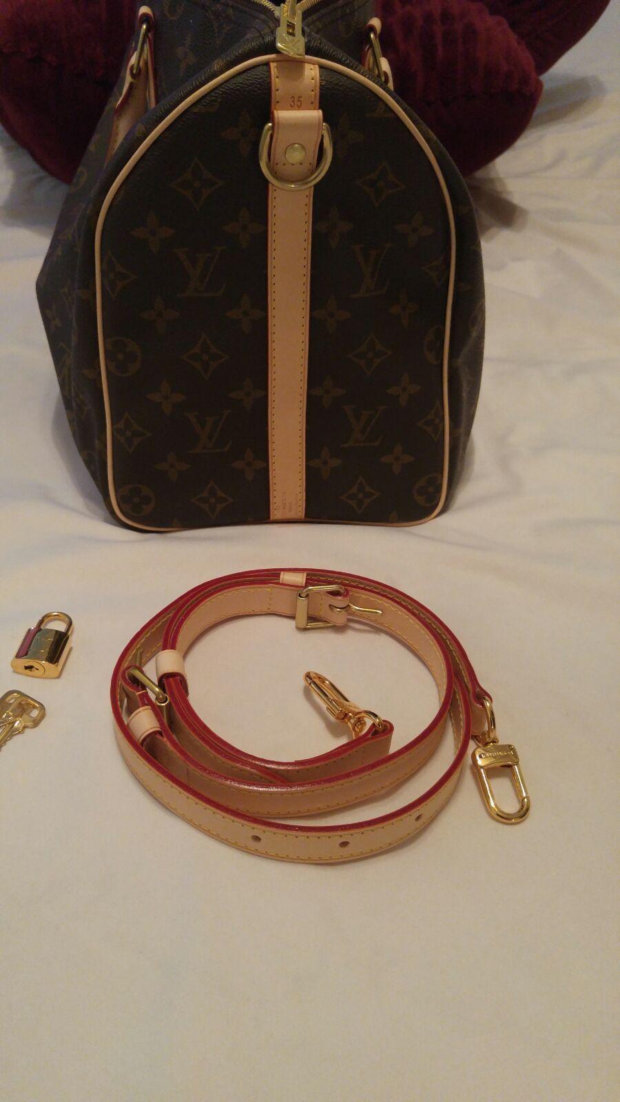Louis Vuitton Bandouliere Speedy 35