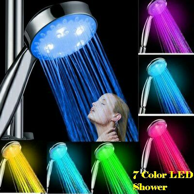 LED Bathroom Romantic Shower Head