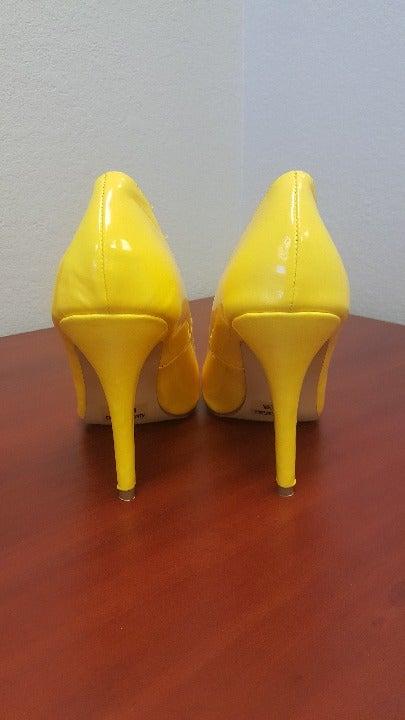 Mary Ann Yellow Heels