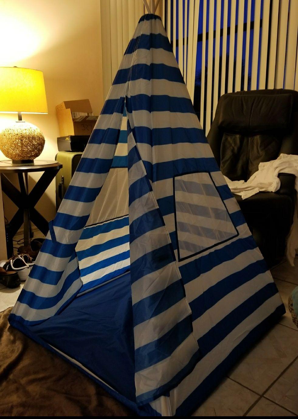 Teepee tent outdoor/indoor kids