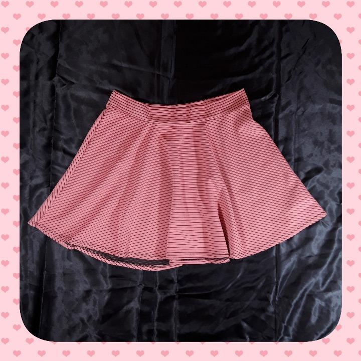 Cute Xhilaration Peach XL Skater Skirt