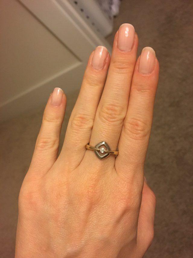 10k Gold Ring/ 8 size