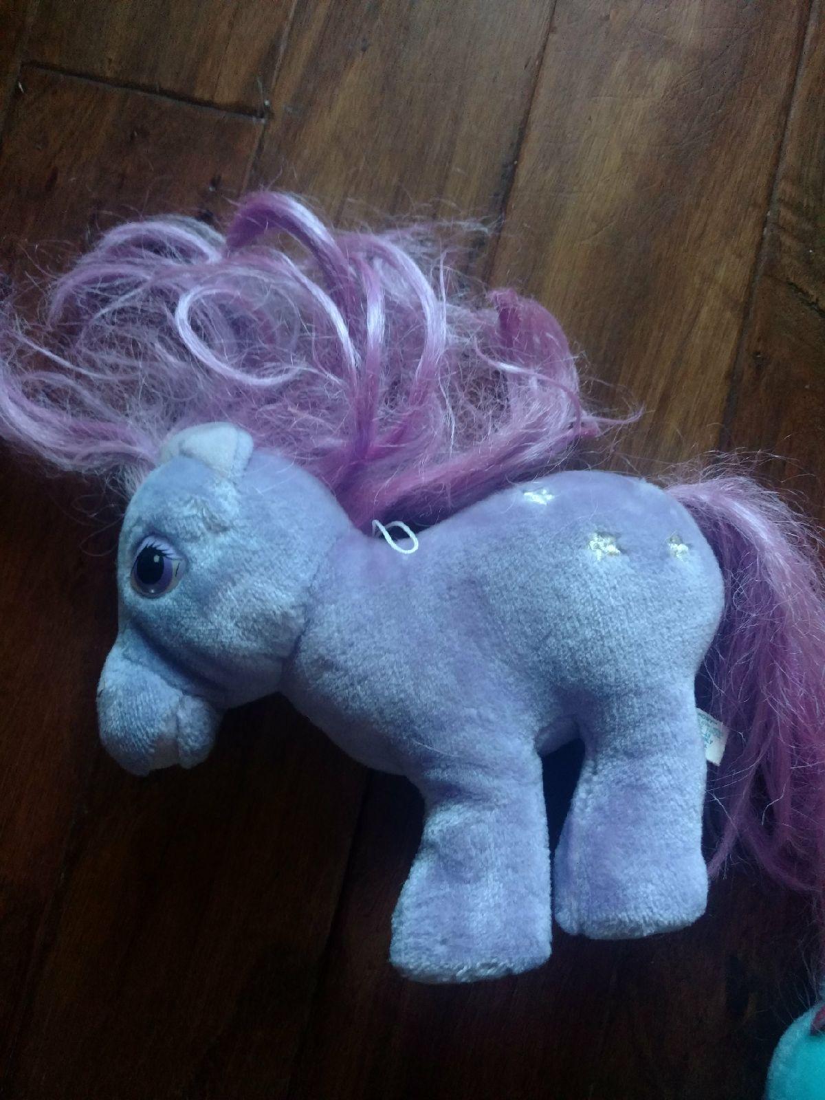 Vintage My Little Pony Hasbro Plush