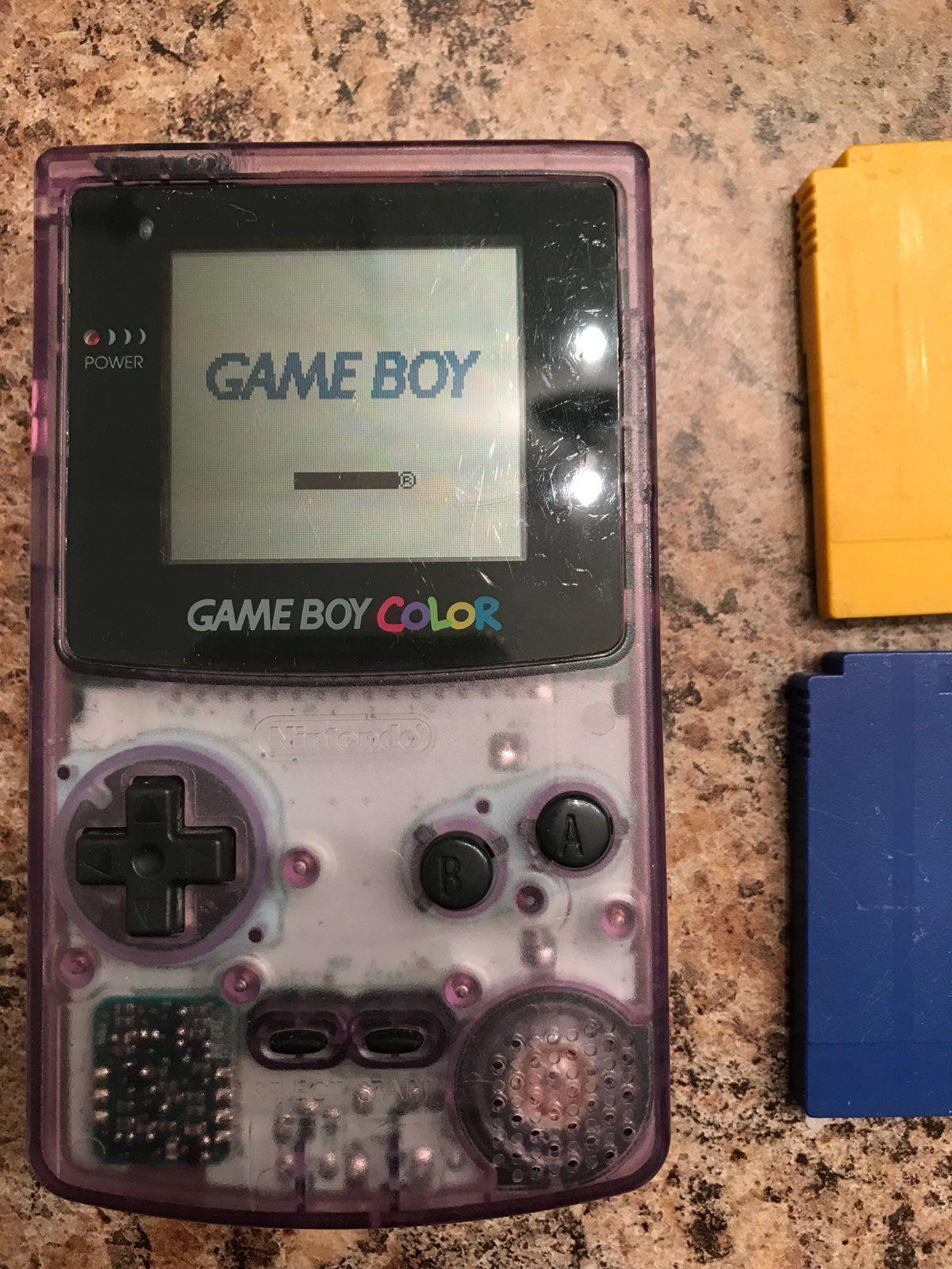 Pokemon games for gameboy color - Gameboy Color Plus 2 Pokemon Games