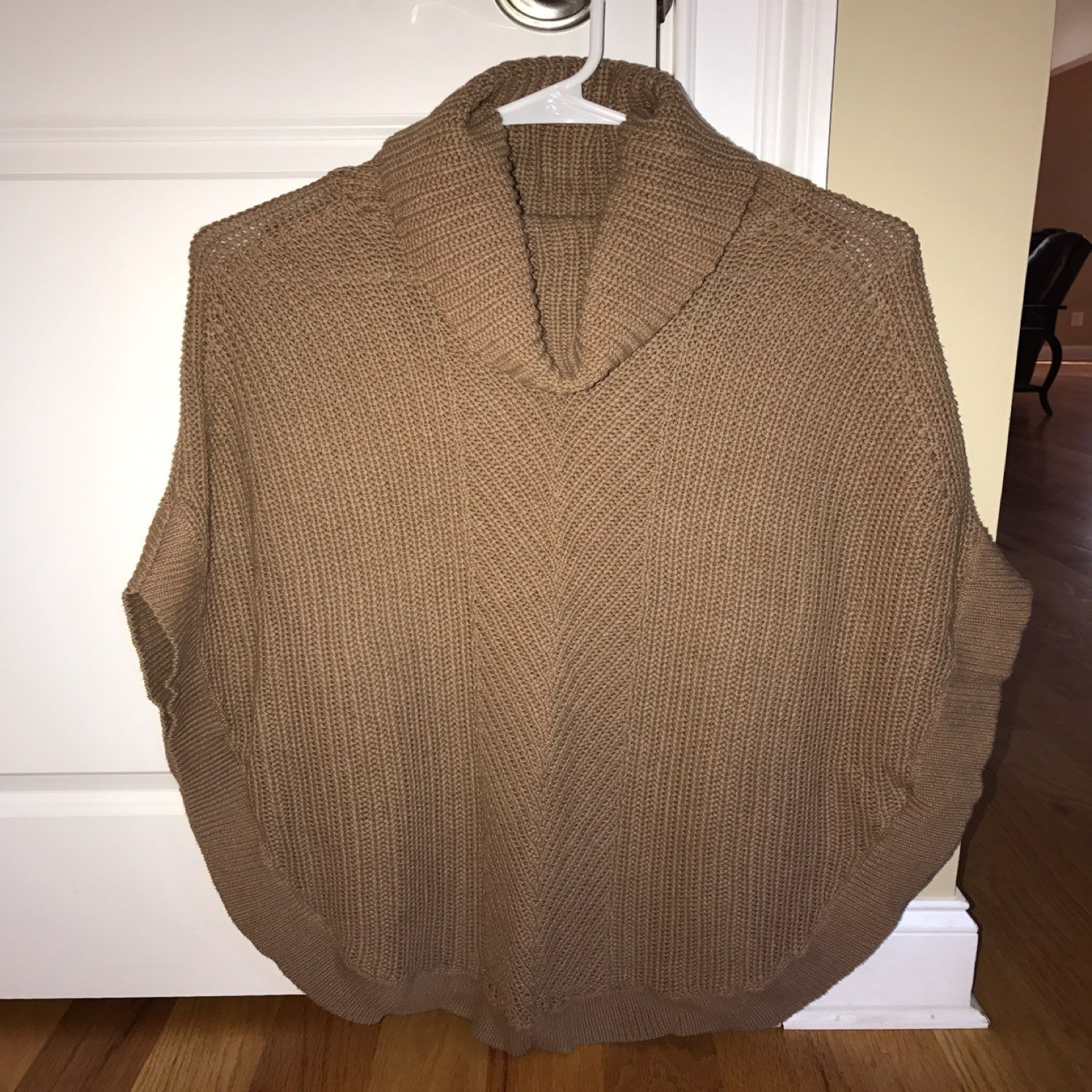 Old Navy Cowl Neck Poncho Sweater - Mercari: BUY & SELL THINGS YOU ...