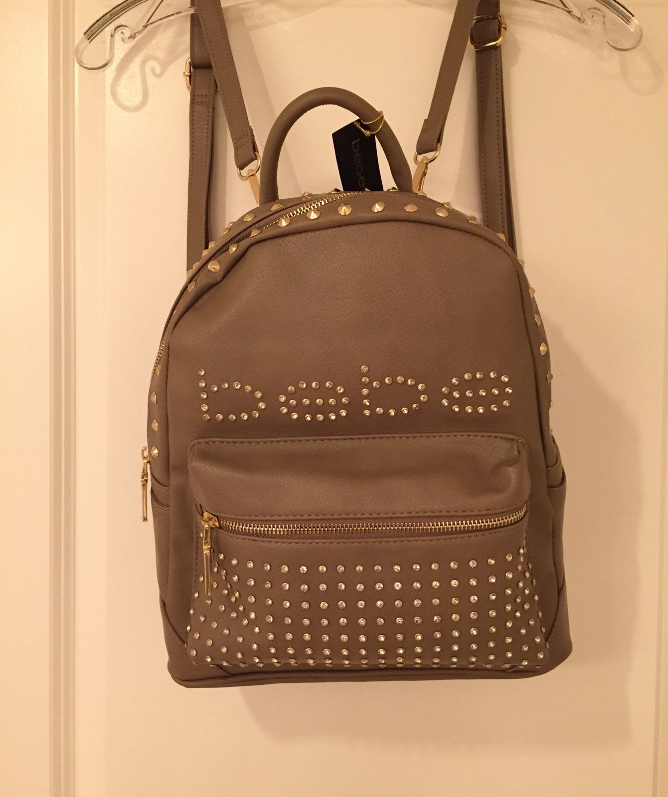 Bebe Leather Backpack Large - Mercari: BUY & SELL THINGS YOU LOVE
