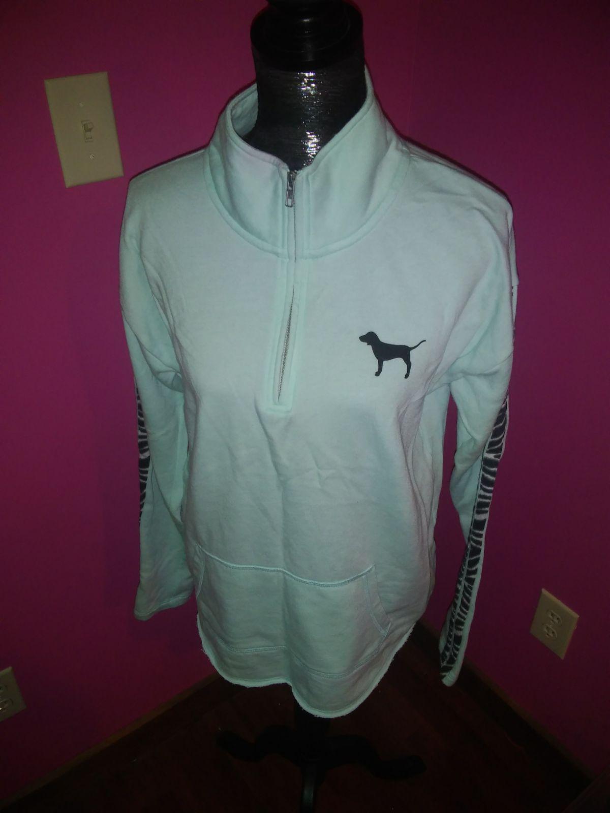 PINK Half Zip Sweater - Mercari: BUY & SELL THINGS YOU LOVE