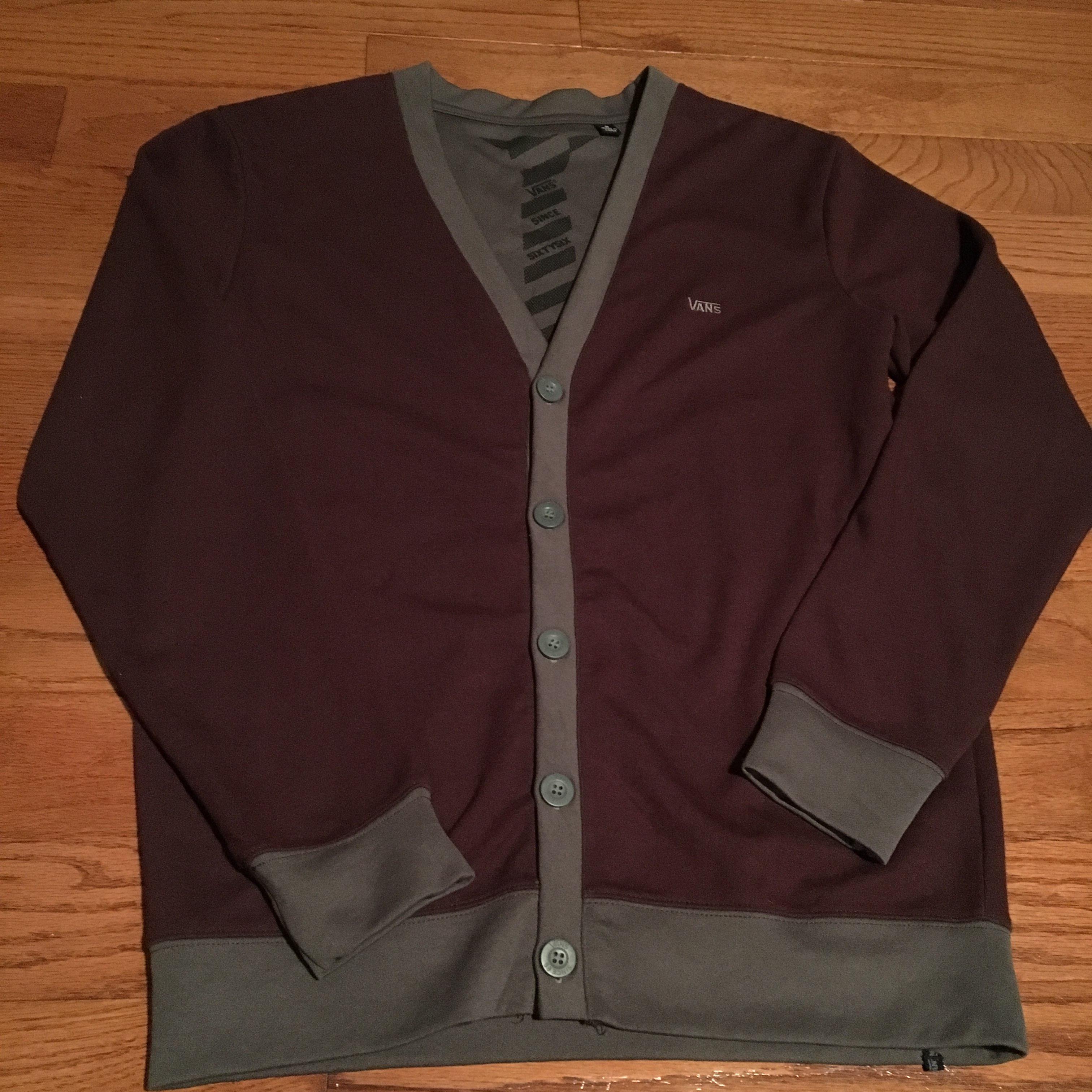 Vans Cardigan Sweater Mens Small - Mercari: BUY & SELL THINGS YOU LOVE