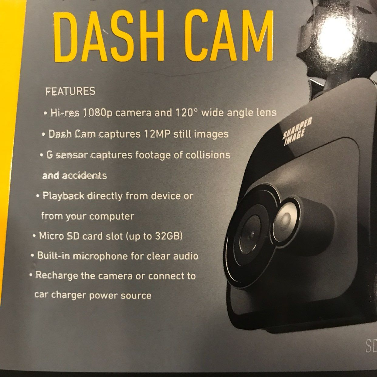 Shaper Image HD Dash Cam NEW
