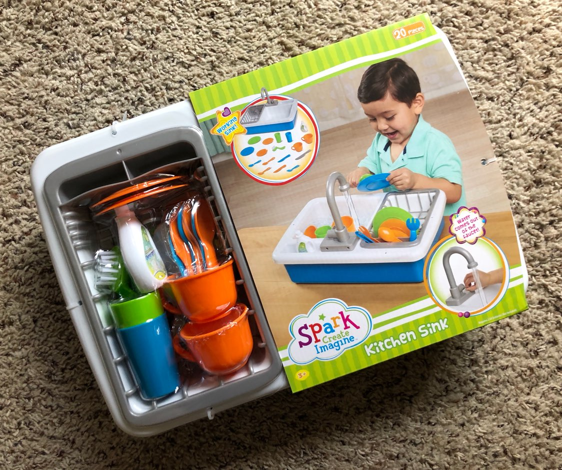 LAST ONE Spark Kitchen Sink Play Set - Mercari: BUY & SELL THINGS ...