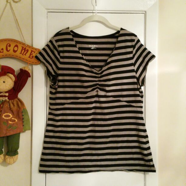 Target Merona Women's striped shirt XL