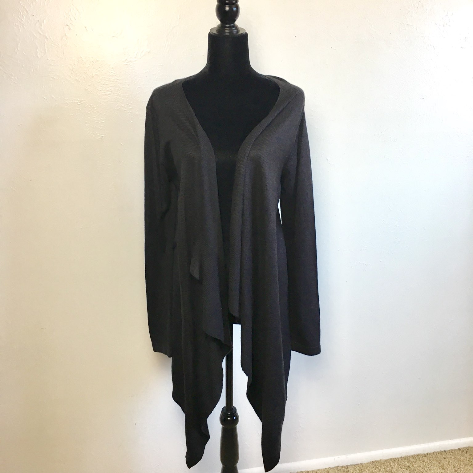 Lightweight Black Cardigan - Mercari: BUY & SELL THINGS YOU LOVE