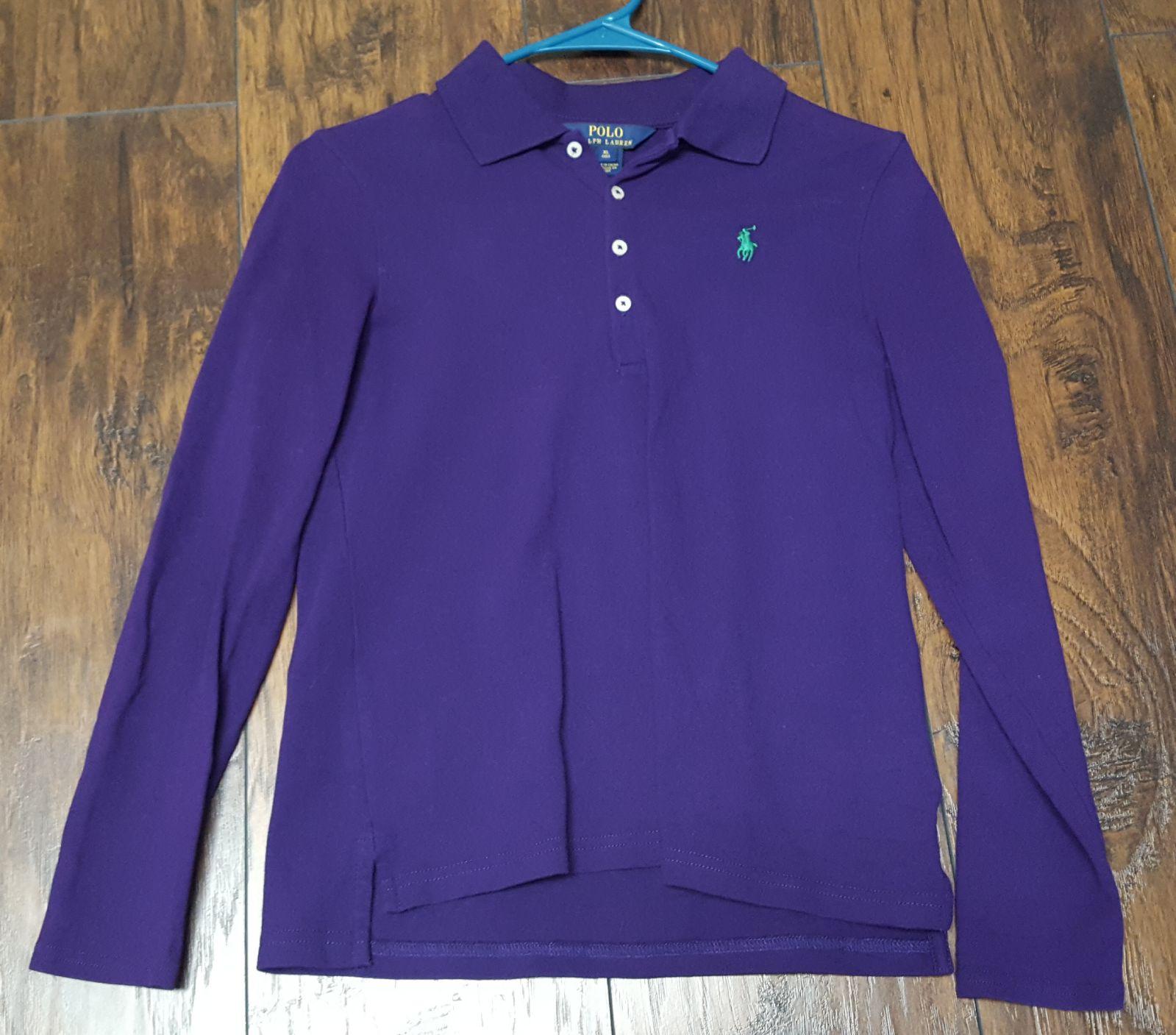 Kid's Girl's XL Polo Ralph Lauren Shirt