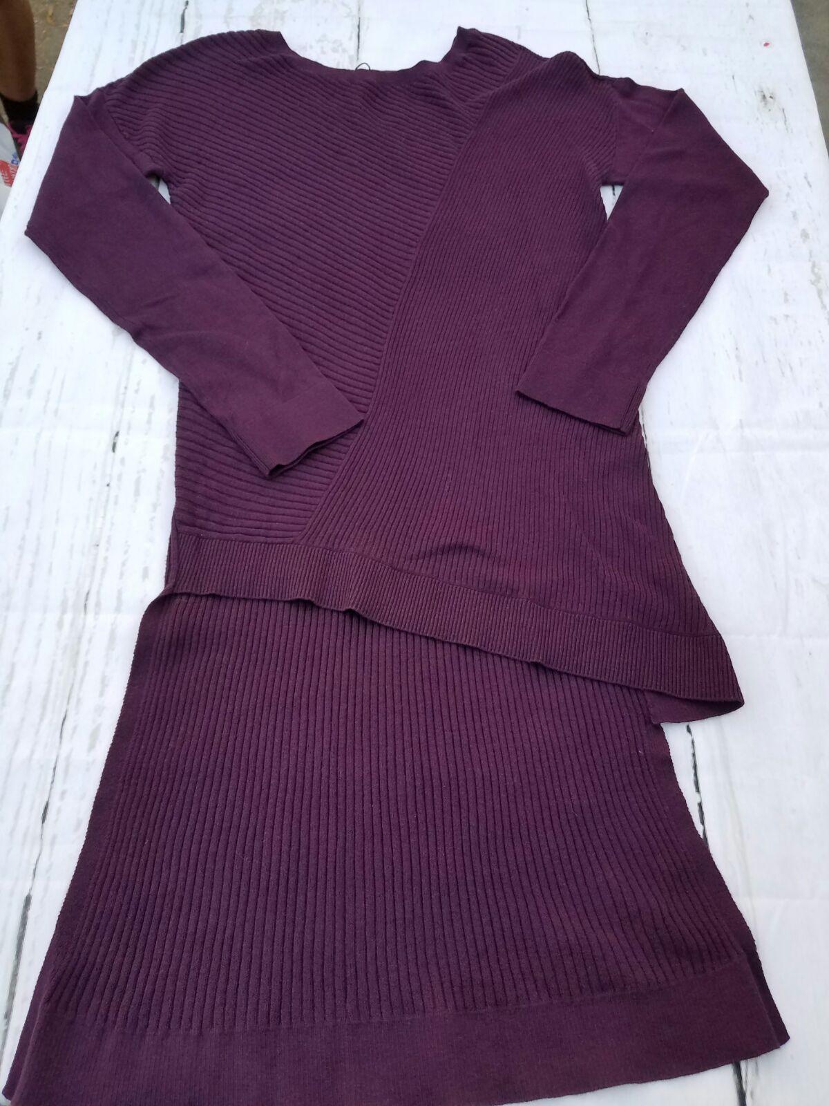 NWT Express purple long-sleeved sweater - Mercari: BUY & SELL ...