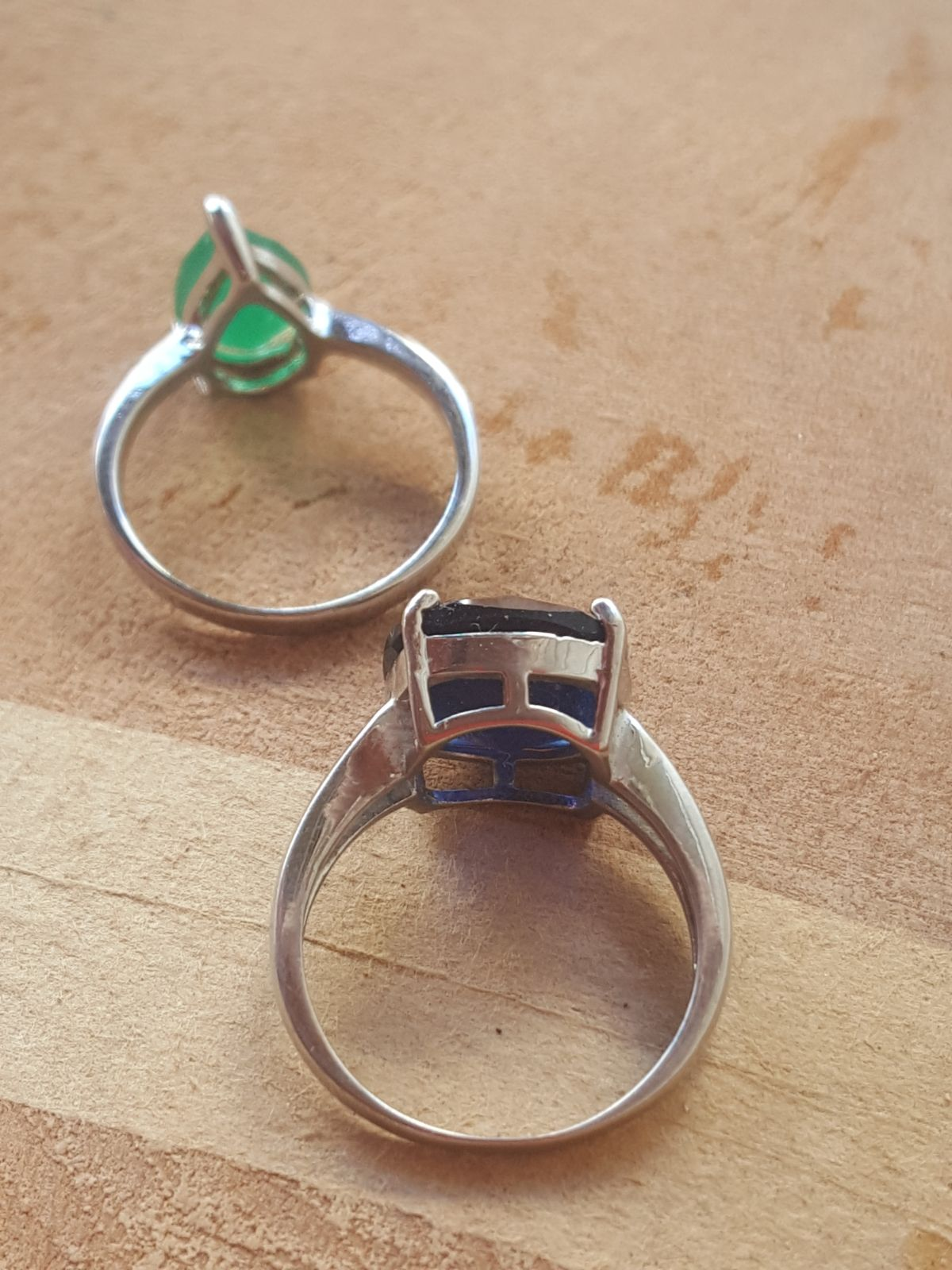Two rings size 8