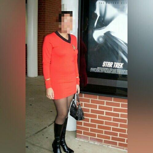 Star Trek TOS Lt. Uhura dress costume M