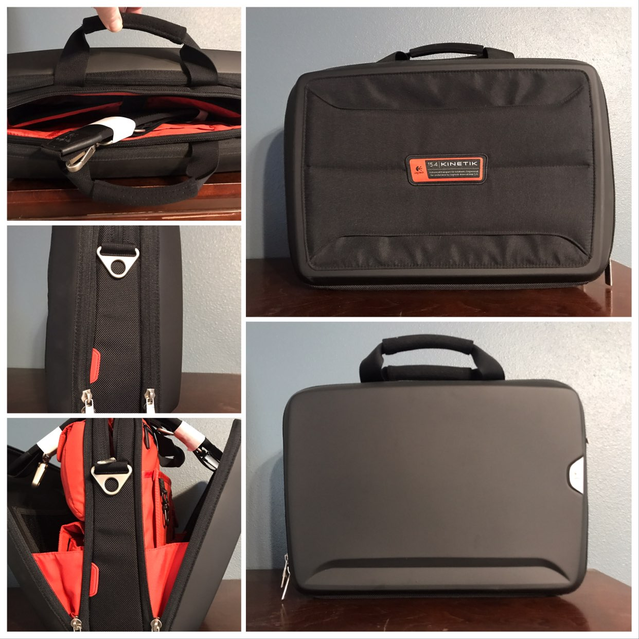 "Logitech Kinetik 15.4"" Laptop Case"