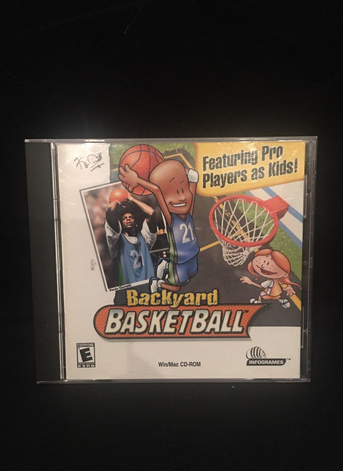 backyard basketball game pc cd rom mercari buy u0026 sell things