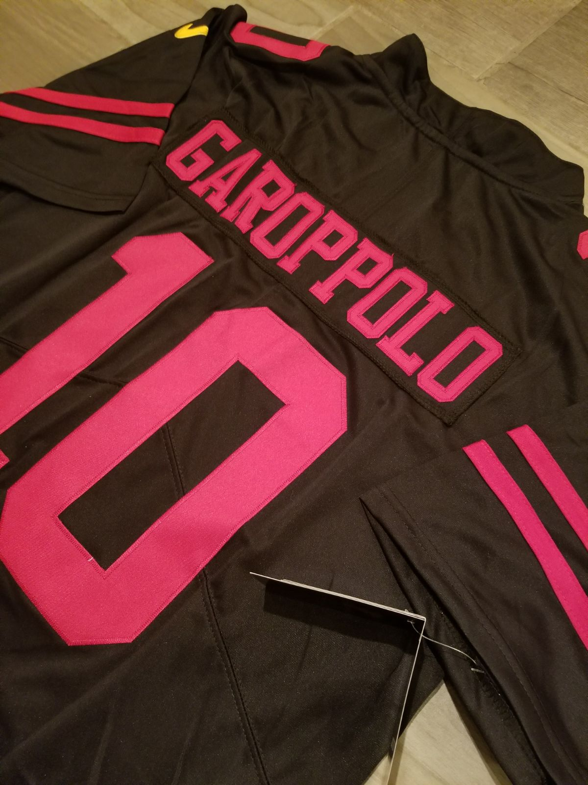 49ers Jimmy Garoppolo color rush jersey