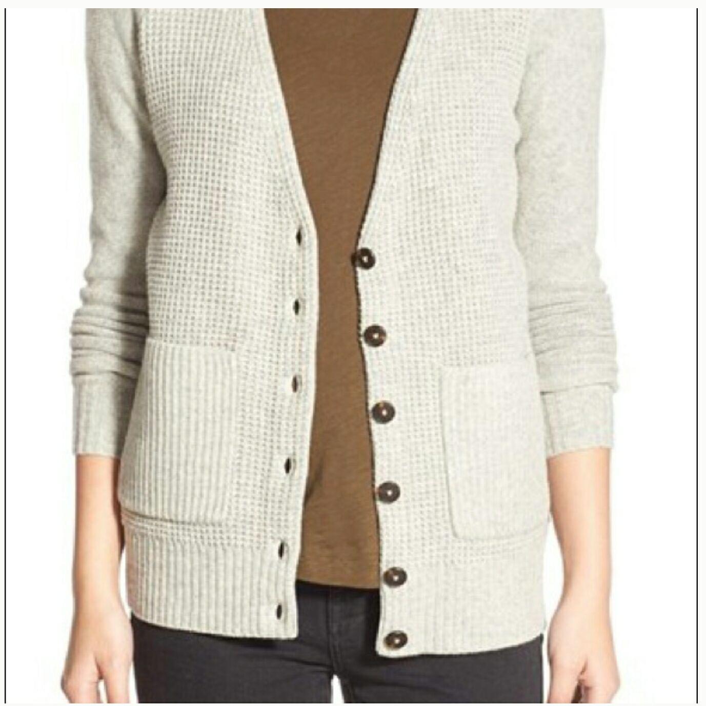 Madewell Unniversity Cardigan 100% Wool - Mercari: BUY & SELL ...