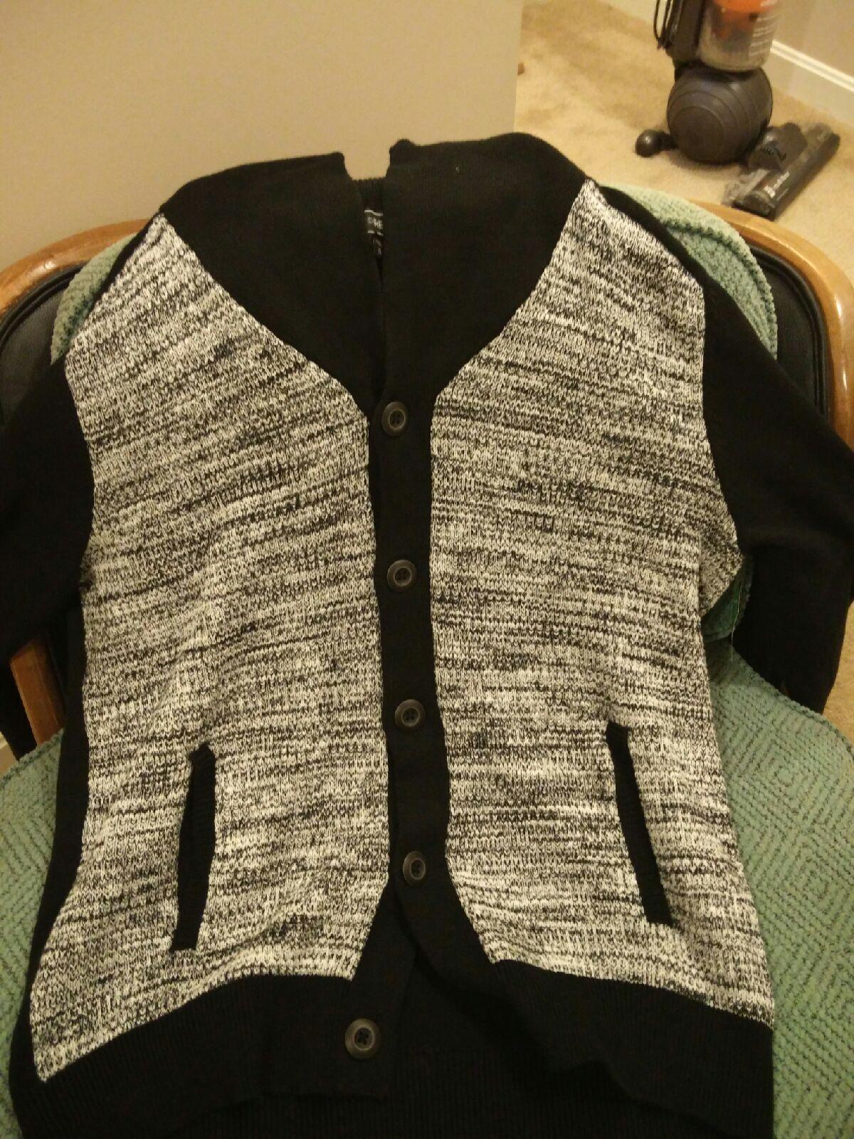 Express Men's Cardigan Sweater XL - Mercari: BUY & SELL THINGS YOU ...