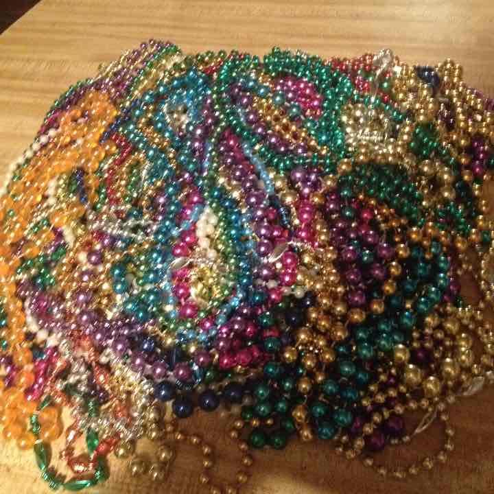 Lot of 70 Mardi Gras Beads