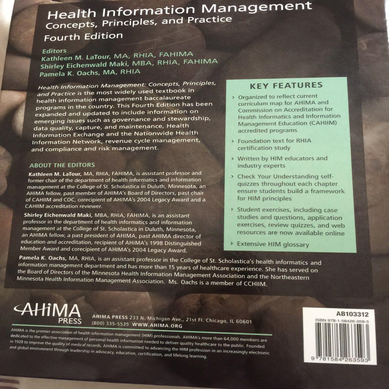Health information management 4th editio mercari buy sell health information management 4th editio xflitez Choice Image