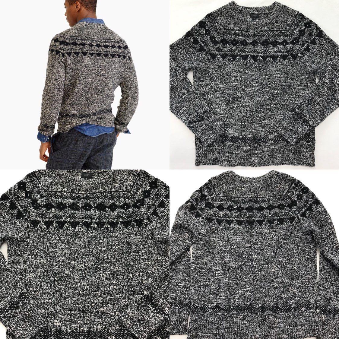 J. Crew Italian Wool Fair Isle Sweater - Mercari: BUY & SELL ...