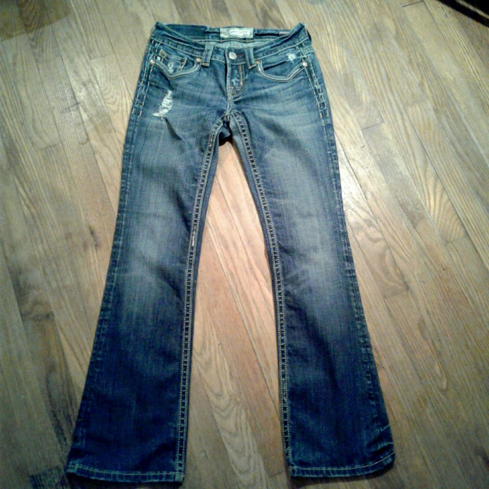 MEK jeans Kaikoura bootcut. 26x32