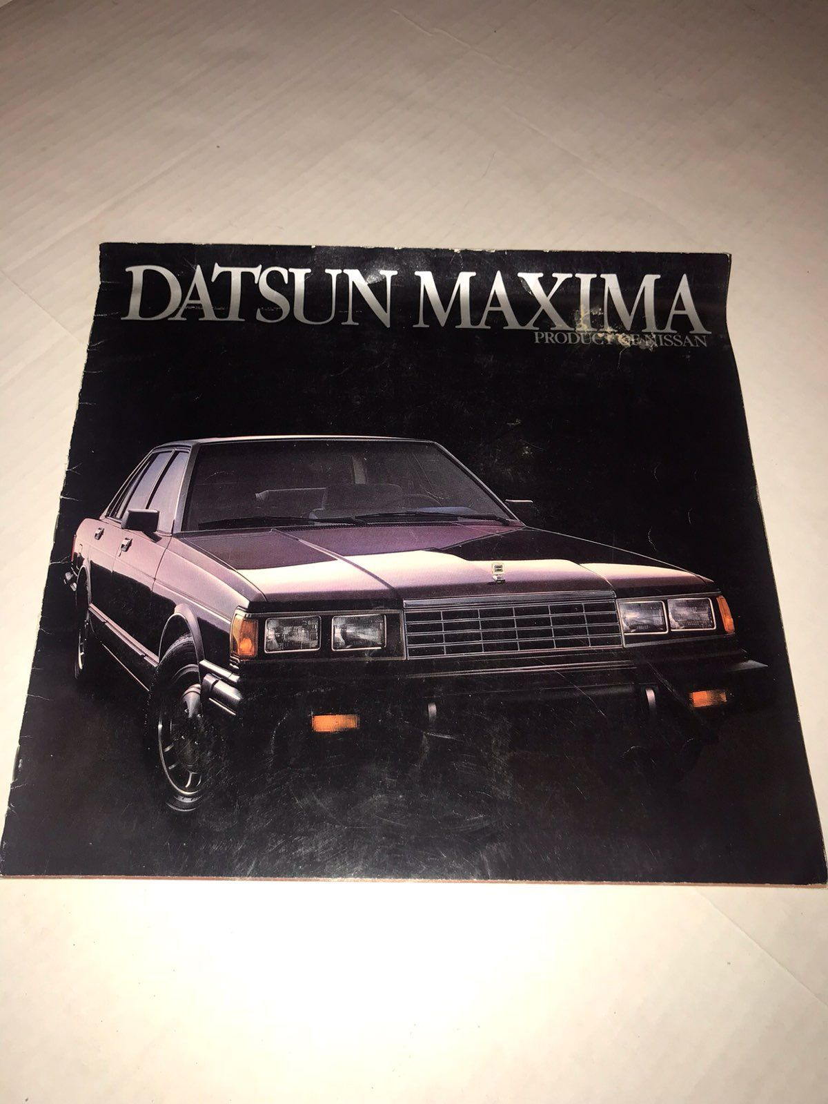 Vintage Car Sales Ad 1983 Datsun Maxima - Mercari: BUY & SELL ...