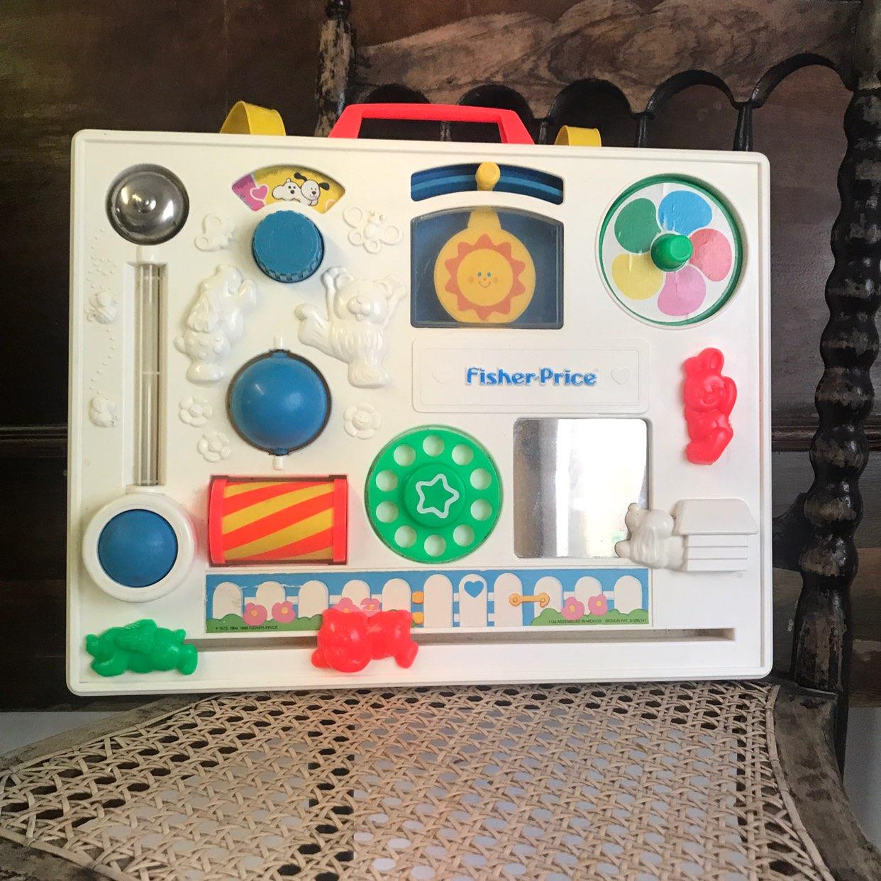 Vintage Fisher Price Crib Activity Toy