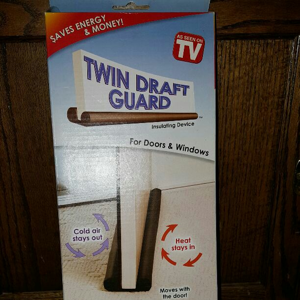 Twin Draft Guard- AS SEEN ON TV