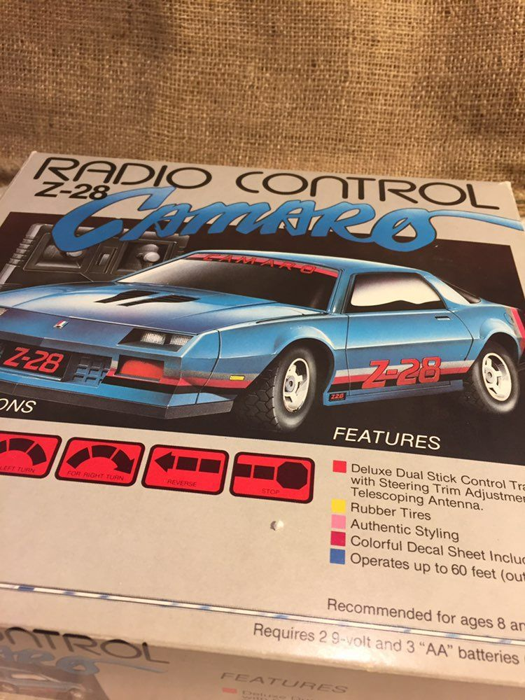 Vintage Radio Control Z – 28 Camaro - Mercari: BUY & SELL THINGS ...