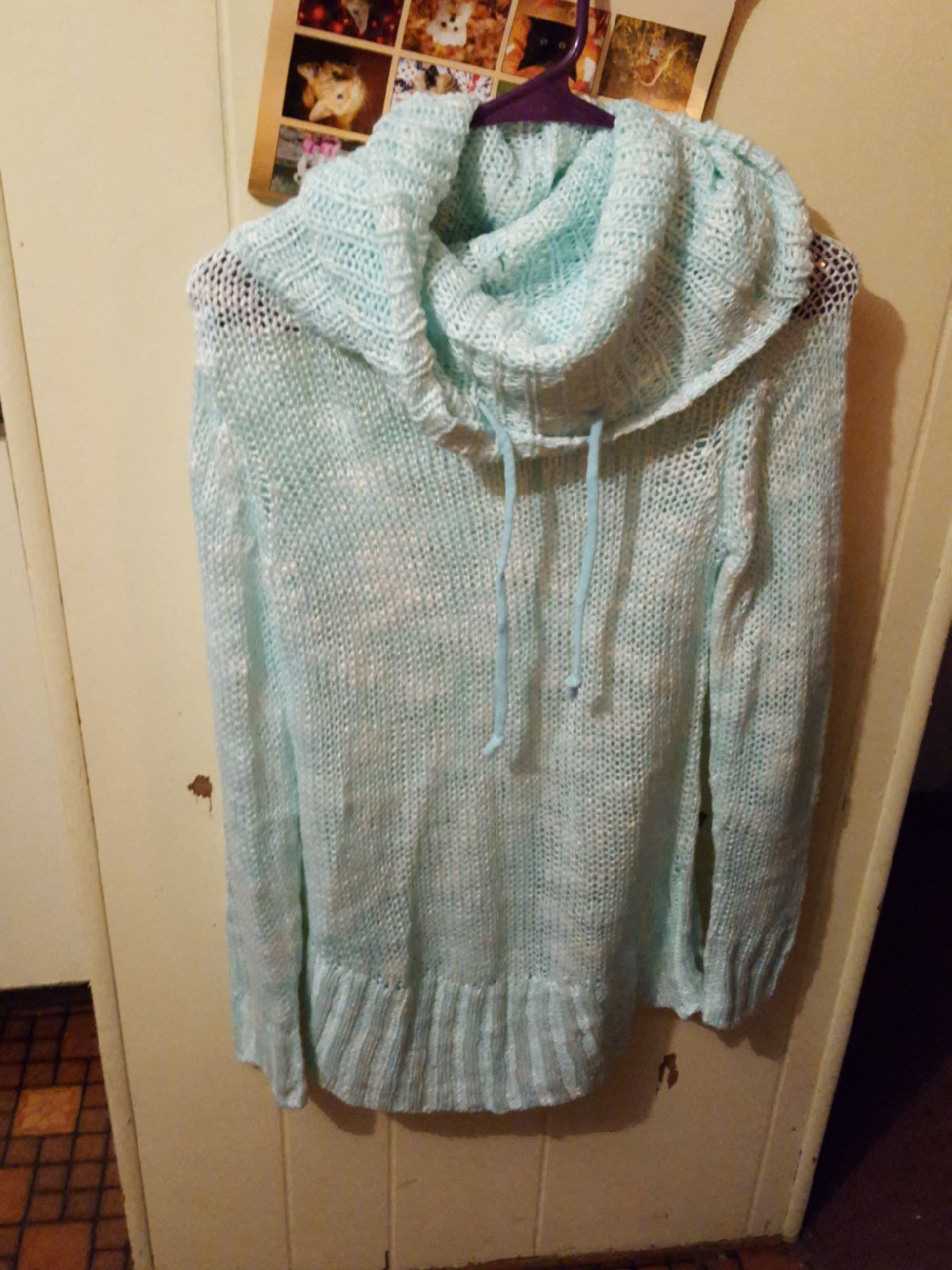 Cute cowl neck sweater - Mercari: BUY & SELL THINGS YOU LOVE