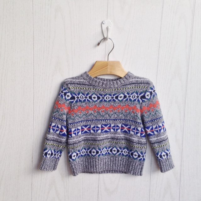 Baby Gap Fair Isle Sweater 12-18M - Mercari: BUY & SELL THINGS YOU ...