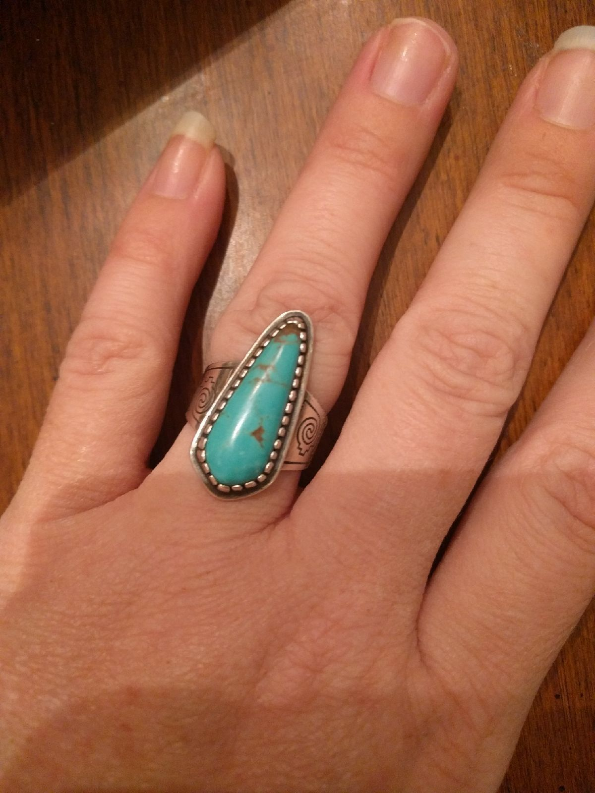 Carolyn pollack Turquoise ring 7