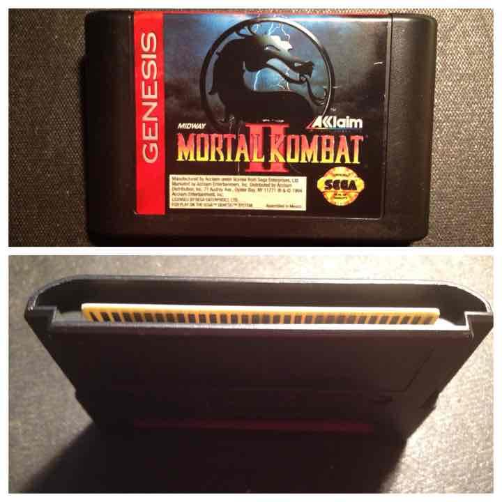 Mortal KOMBAT 1 & 2 Sega Genesis
