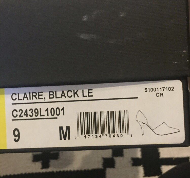 Vince Black Claire D'orsay Pump Heels 9