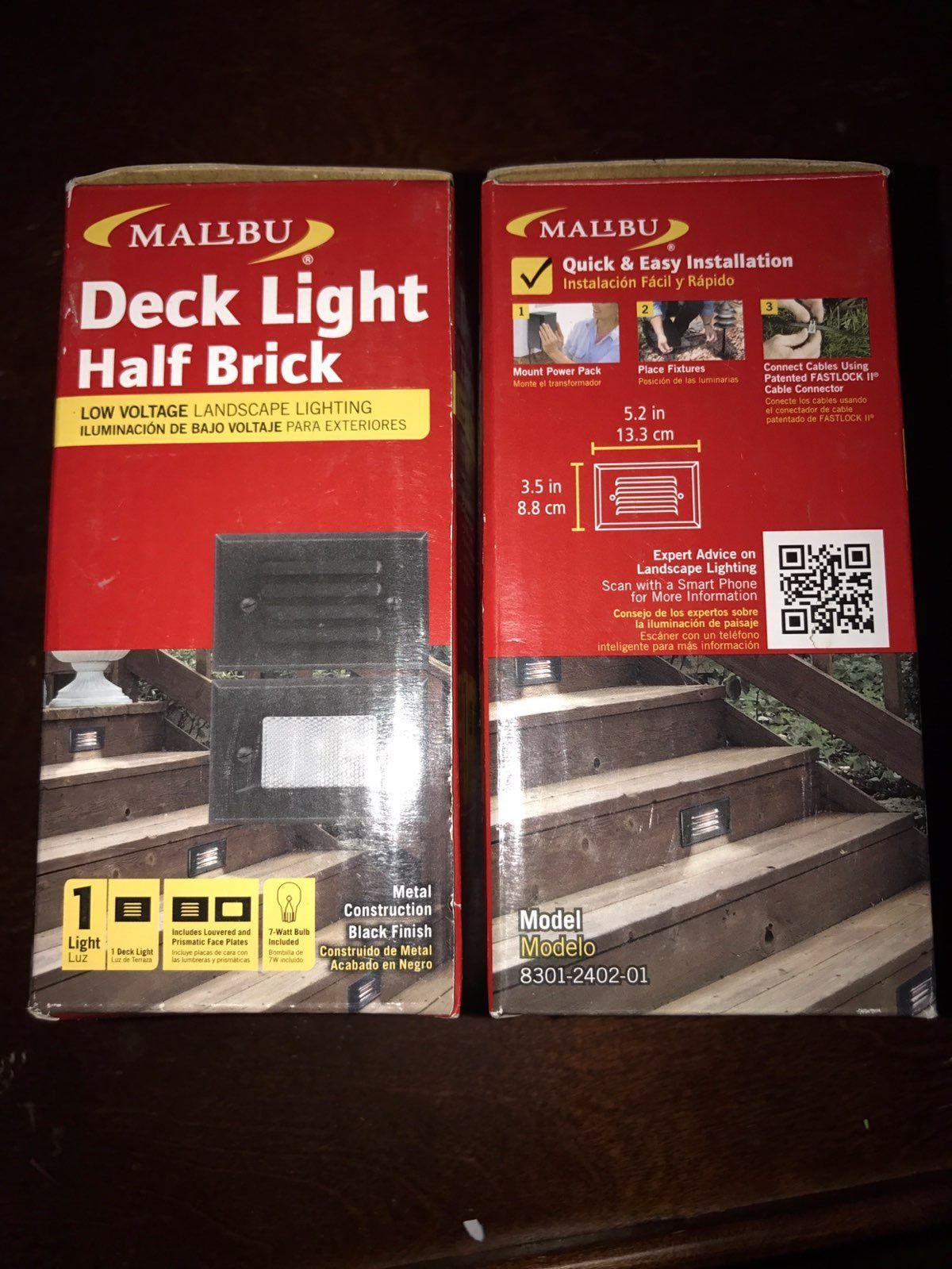 New malibu deck lights model 8301240201 mercari buy sell new malibu deck lights model 8301240201 aloadofball Image collections
