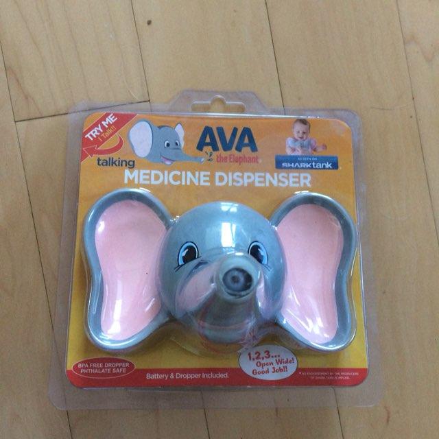 Ava Talking Elephant Medicine Dispenser