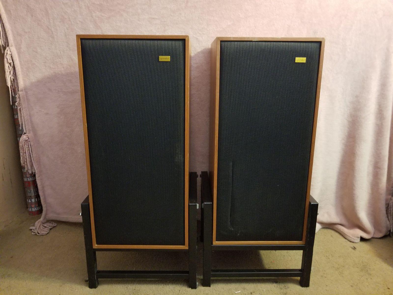 Spendor Vintige 1970 type: BCI speakers