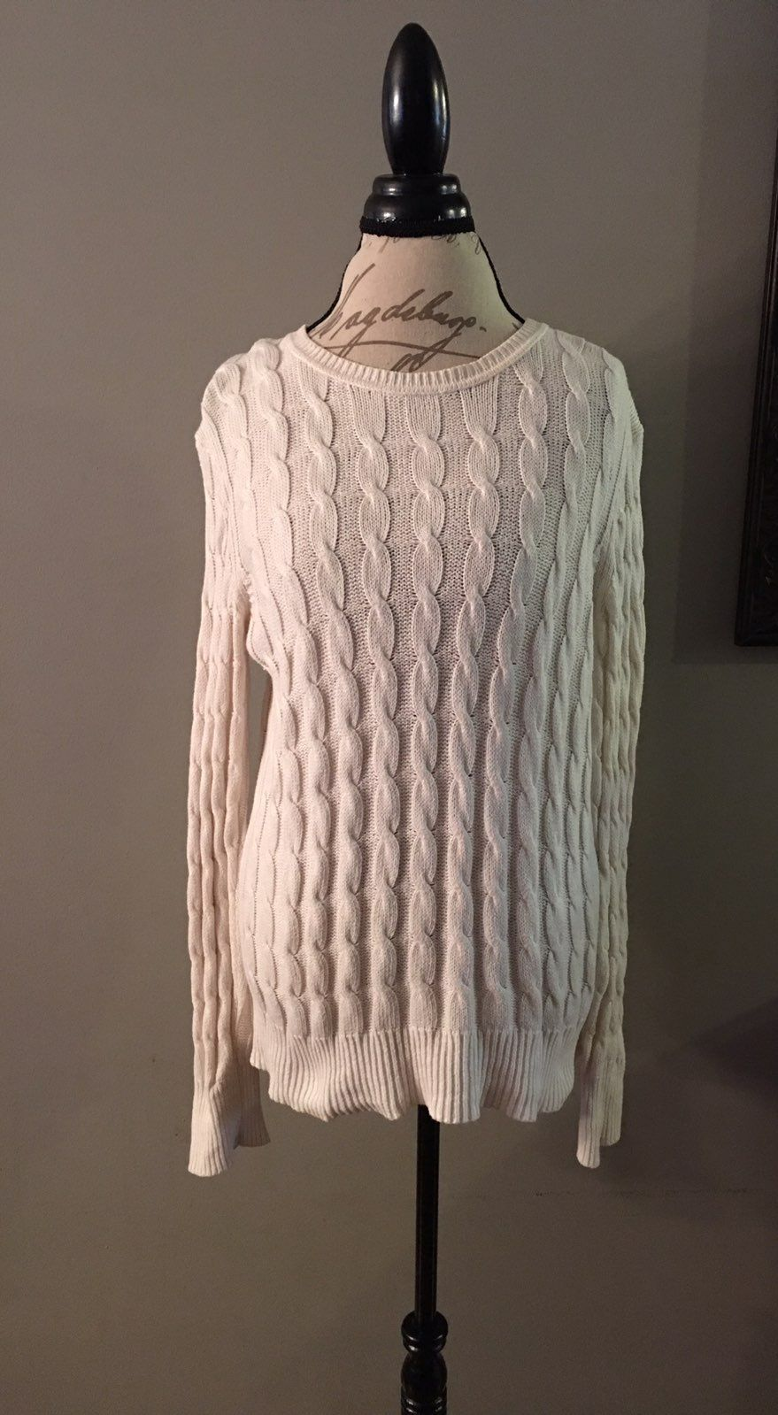 Gap Cable Knit Sweater - Mercari: BUY & SELL THINGS YOU LOVE