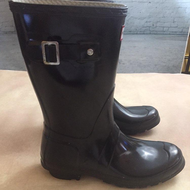 Hunter Glossy Boots 8