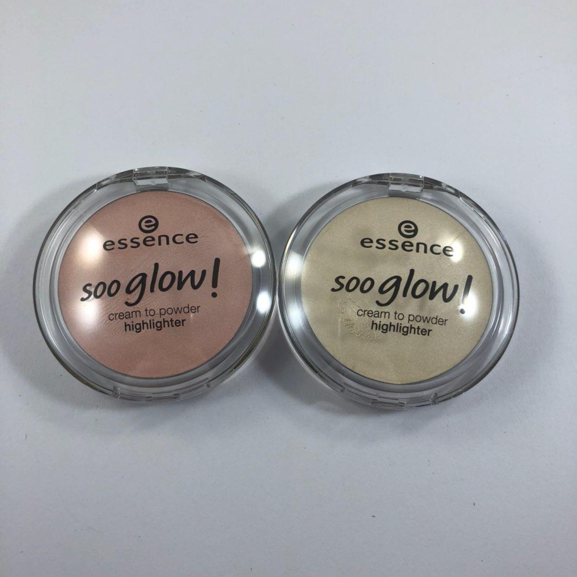 2 Essence Sooo Glow! Highlighters