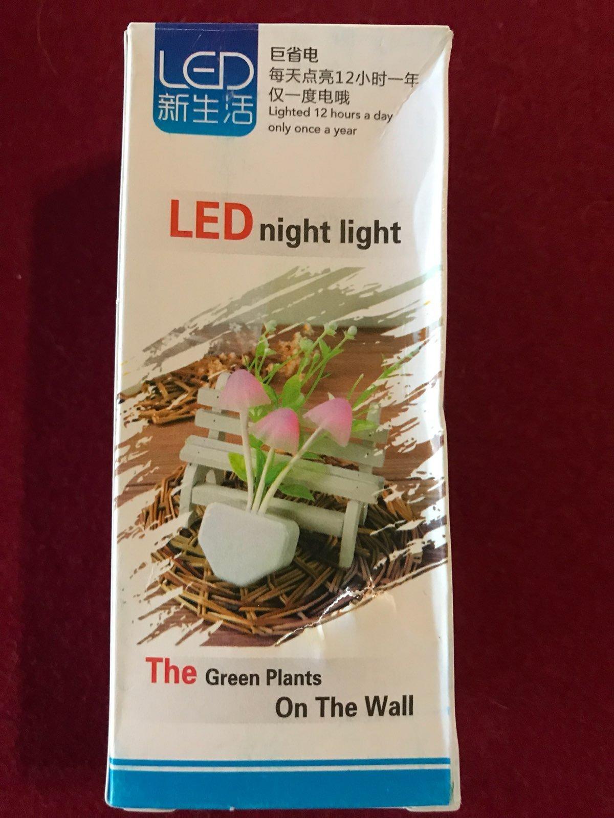 Sonic Toothbrush & LED Night Light