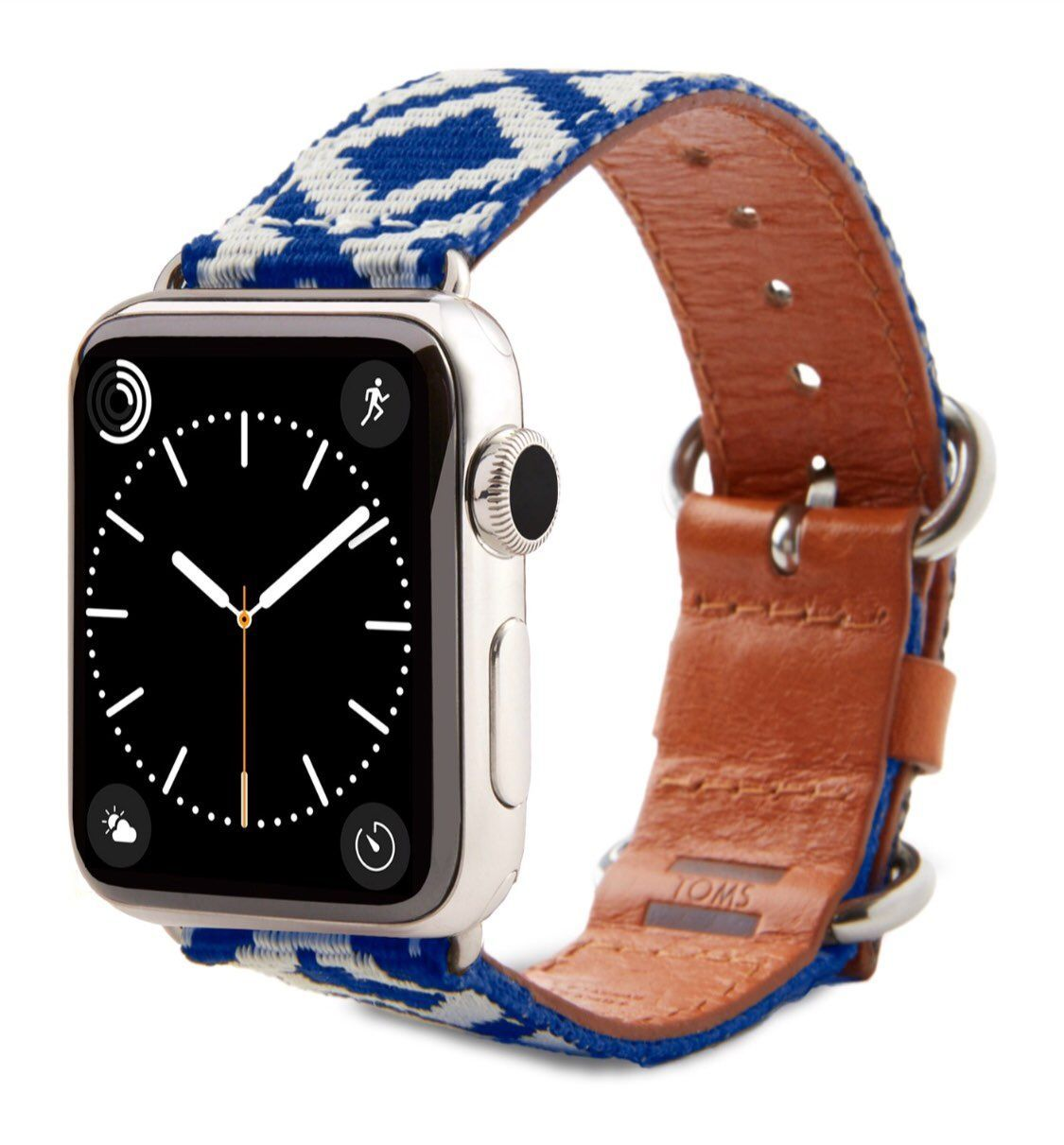 New! TOMS Woven Apple Watch Band 38 mm