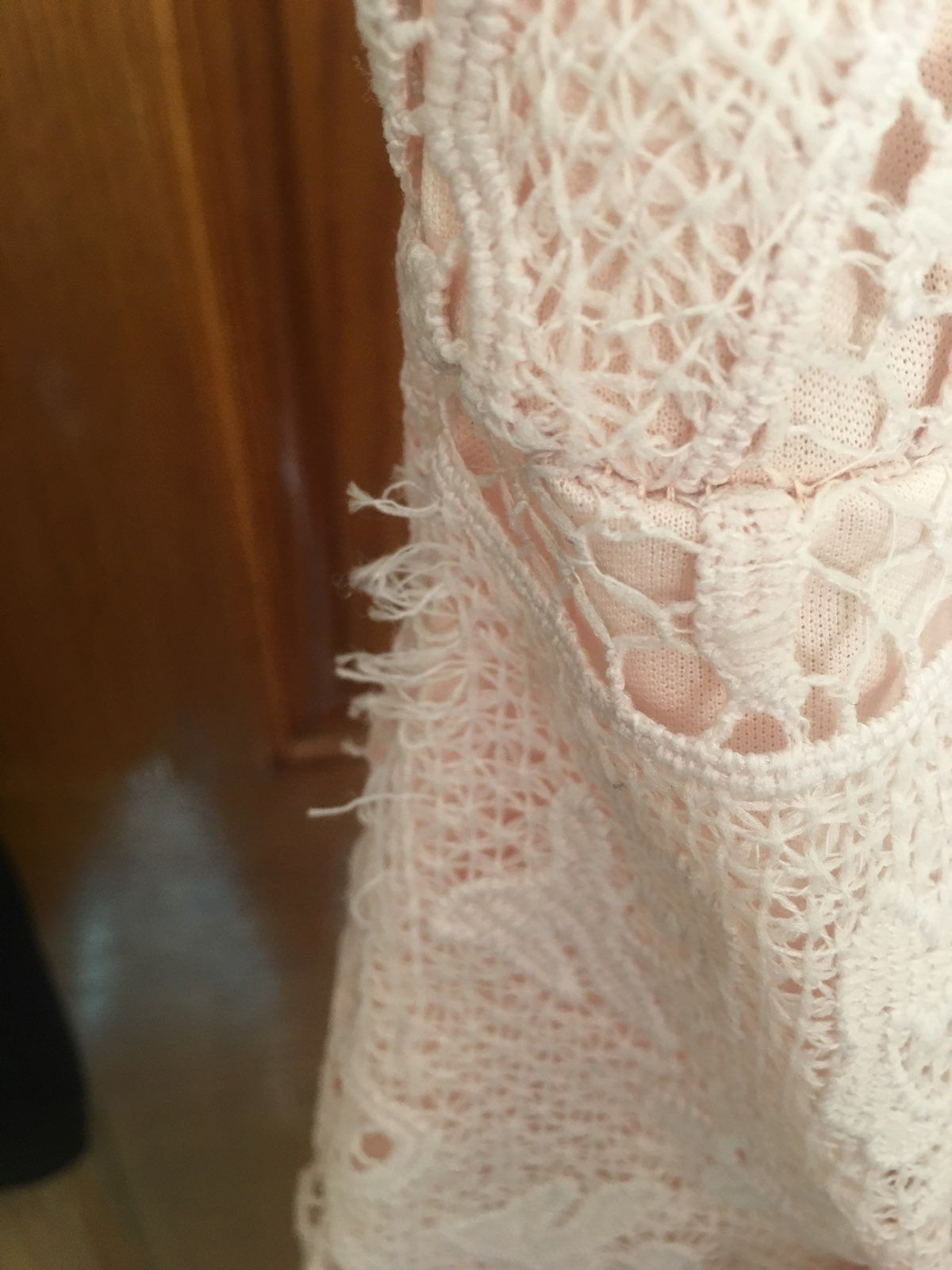 Soft Pink Bodycon Dress