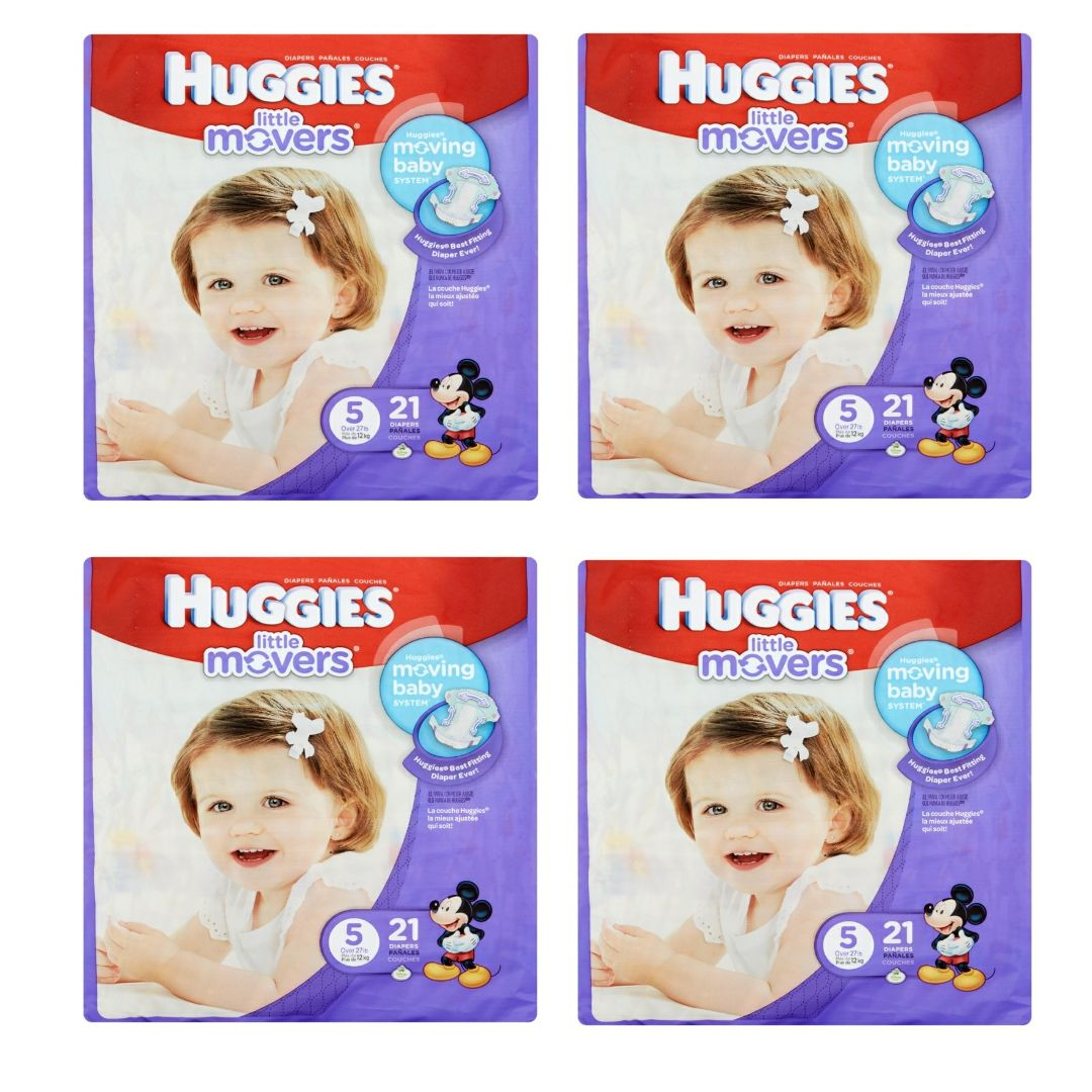 Huggies Little Movers - Size 5
