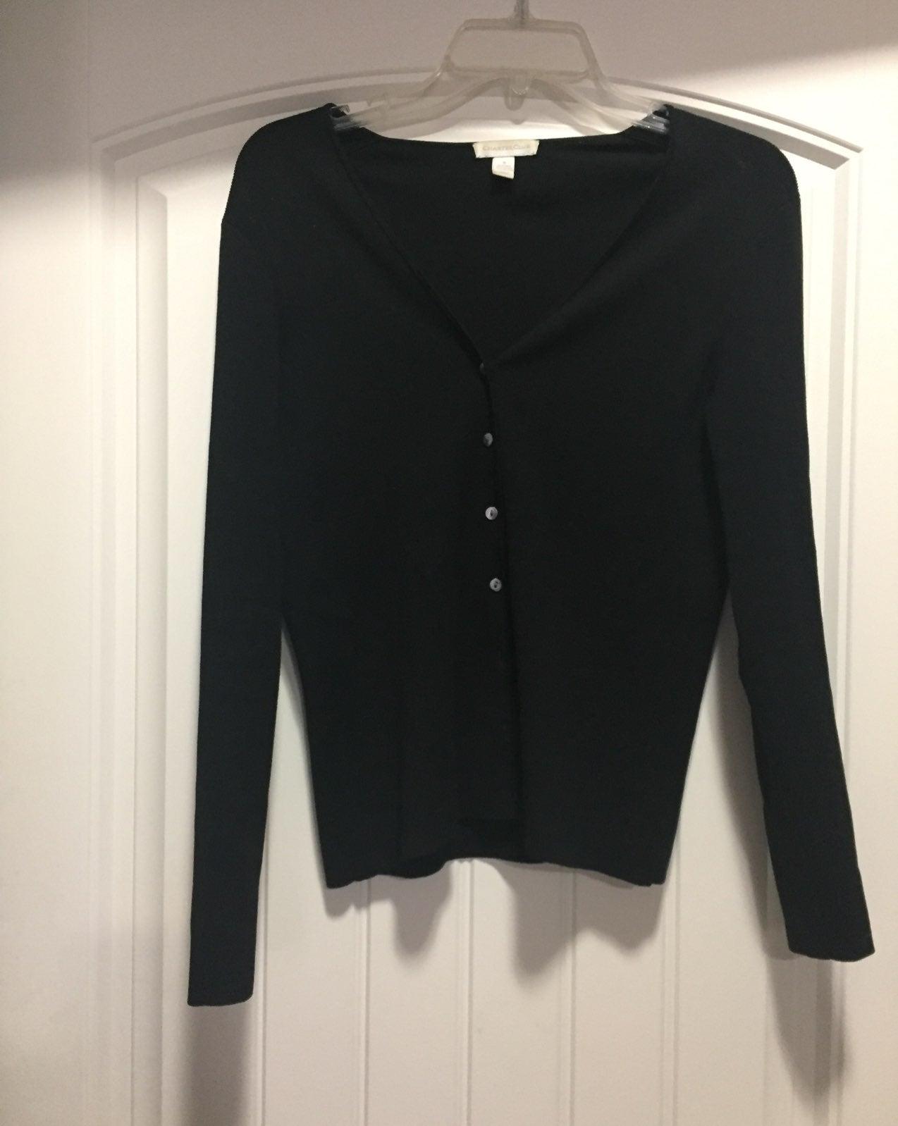 Black Cardigan Sweater small - Mercari: BUY & SELL THINGS YOU LOVE
